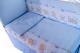 Комплект постельный в кроватку Баю-Бай Мечта К30-М4 (голубой) -