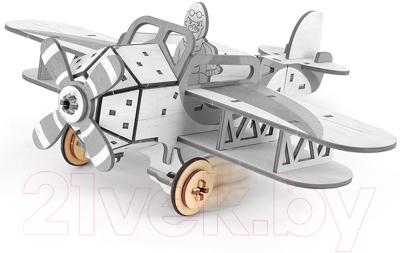 Самолет игрушечный Woody Самолет Крутой Вираж / 01607