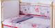 Комплект постельный в кроватку Баю-Бай Дружба К30-Д1 (красный) -
