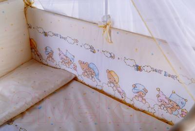 Комплект постельный в кроватку Баю-Бай Мечта К40-М2 (бежевый)