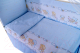 Комплект постельный в кроватку Баю-Бай Мечта К40-М4 (голубой) -