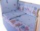 Комплект постельный в кроватку Баю-Бай Забава / К40-З4 (голубой) -