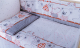 Комплект постельный в кроватку Баю-Бай Дружба К40-Д1 (красный) -