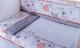 Комплект постельный в кроватку Баю-Бай Дружба К60-Д1 (красный) -
