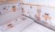 Комплект постельный в кроватку Баю-Бай Раздолье / К60-Р2 (бежевый) -