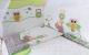 Комплект постельный в кроватку Баю-Бай Раздолье / К30-Р3 (зеленый) -