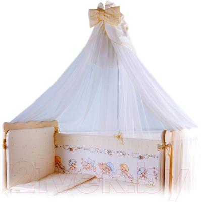 Комплект постельный в кроватку Баю-Бай Мечта К80-М2 (бежевый)