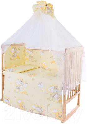 Комплект постельный в кроватку Баю-Бай Нежность К90-Н2 (бежевый)