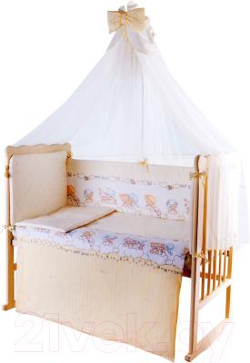 Комплект постельный в кроватку Баю-Бай Мечта К120-М2 (бежевый)