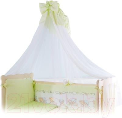 Комплект постельный в кроватку Баю-Бай Мечта / К120-М3 (зеленый)