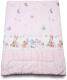 Одеяло детское Баю-Бай Забава / ОД01-З1 (розовый) -