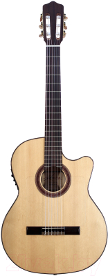 Электроакустическая гитара Kremona Rosa Luna (натуральный цвет)