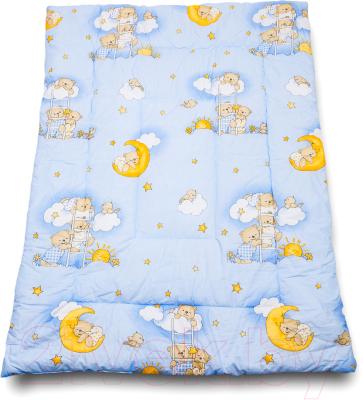 Одеяло детское Баю-Бай Нежность / ОД01-Н4 (голубой)