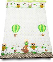 Одеяло детское Баю-Бай Раздолье / ОД01-Р3 (зеленый) -