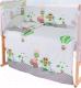 Пододеяльник детский Баю-Бай Раздолье / ПД11-Р3 (зеленый) -