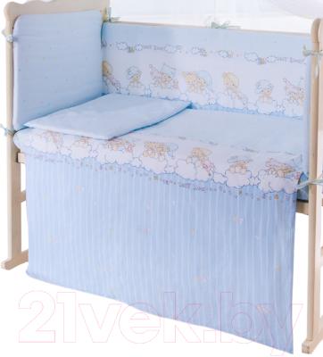 Простыня детская Баю-Бай Мечта / ПР12-М4 (голубой)