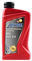 Моторное масло ALPINE RSL 0W20 / 0100191 (1л) -