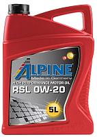 Моторное масло ALPINE RSL 0W20 / 0100192 (5л) -