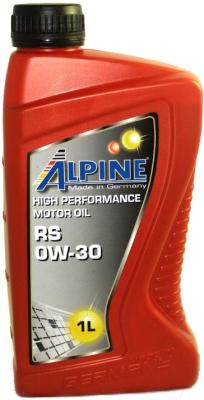 Моторное масло ALPINE RS 0W30 / 0100241 (1л)