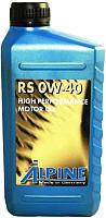 Моторное масло ALPINE RS 0W40 / 0100221 (1л) -