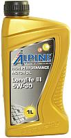Моторное масло ALPINE Longlife III 5W30 / 0100281 (1л) -