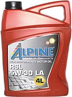 Моторное масло ALPINE RSL 5W30 LA / 0100309 (4л) -
