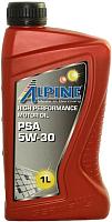 Моторное масло ALPINE PSA 5W30 / 0101381 (1л) -