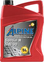 Моторное масло ALPINE Special R 5W30 / 0101402 (5л) -