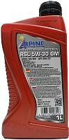 Моторное масло ALPINE RSL 5W30 GM / 0101361 (1л) -