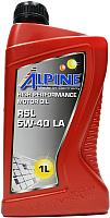 Моторное масло ALPINE RSL 5W40 C3 / 0100171 (1л) -