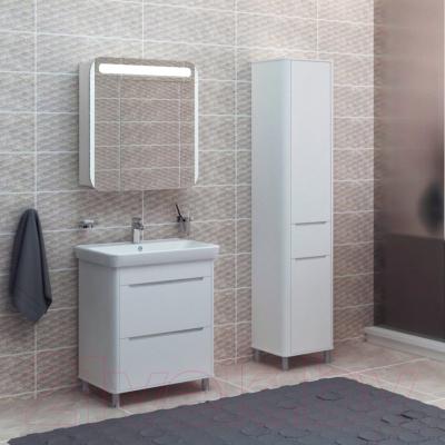 Шкаф с зеркалом для ванной Аква Родос Авалон 70 / АР0001533