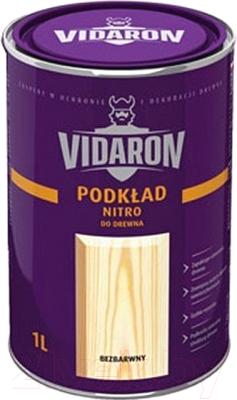 Грунтовка Vidaron Нитро для древесины