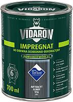 Защитно-декоративный состав Vidaron Impregnant V16 Антрацит (700мл) -