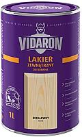 Лак Vidaron Наружный (1л, бесцветный глянец) -