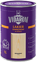 Лак Vidaron Наружный (1л, сатиновый глянец) -