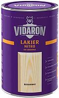 Лак Vidaron Нитро для древесины (200мл, бесцветный глянец) -