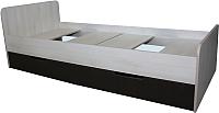 Односпальная кровать Мебель-Класс Лира-1 (венге/дуб шамони) -