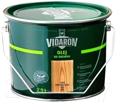 Масло для древесины Vidaron D02 Тик индонезийский (2.5л)