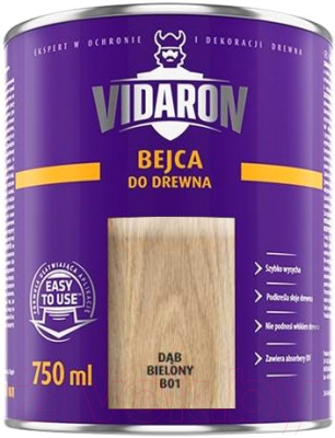 Морилка Vidaron B01 Белый дуб (750мл)