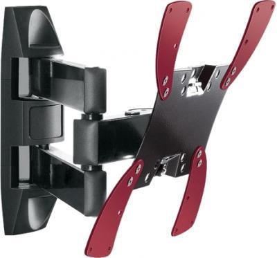 Кронштейн для телевизора Holder LCDS-5066 (черный глянец) - общий вид