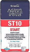 Шпатлевка Sniezka Acryl Putz Start EX ST10 (5кг) -