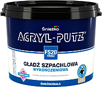 Шпатлевка Sniezka Acryl Putz FS20 Finish (5кг, готовая) -