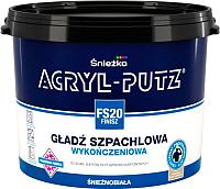 Шпатлевка Sniezka Acryl Putz FS20 Finish (17кг, готовая) -