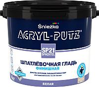 Шпатлевка Sniezka Acryl Putz SP21 Finish (4кг, белый) -