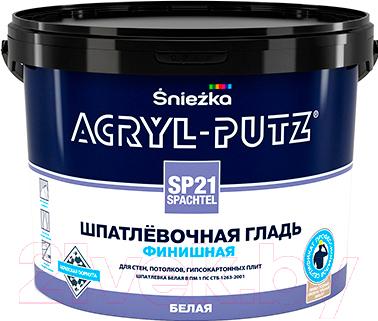 Шпатлевка Sniezka Acryl Putz SP21 Finish (25кг, белый)