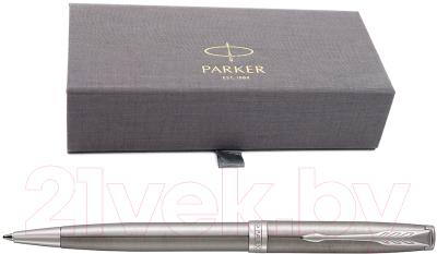 Ручка шариковая имиджевая Parker Sonnet Core Stainless Steel CT 1931512