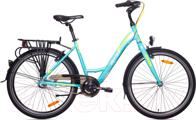 Велосипед AIST Jazz 2.0 (голубой)