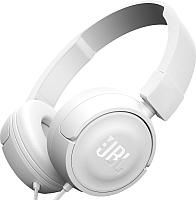 Наушники-гарнитура JBL T450 / JBLT450WHT (белый) -