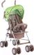 Детская прогулочная коляска Lorelli Trek Beige Green Lambs / 10020881732 -
