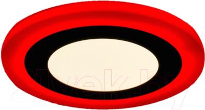 Точечный светильник Truenergy 6+3W 10206 (красный)